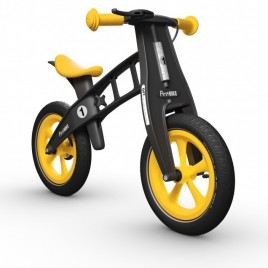 Колело за баланс FirstBIKE LIMITED YELLOW 2017